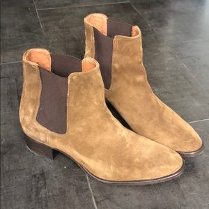 Frye Suede Booties Size 8